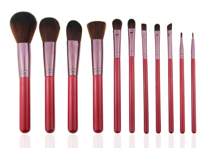 Beauty Professional Makeup Brush Set with Wooden Handle / Concealer Brush