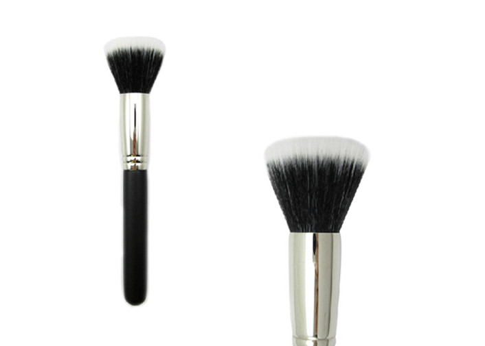 Nylon Hair Bronzer Makeup Brush Flat Top Foundation Brush For Face Makeup
